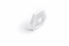 13&9 Design_GC-JEWELLERY_HEXAGON RING_Bikonvex_White_top®Joel_Kernasenko_MOMA