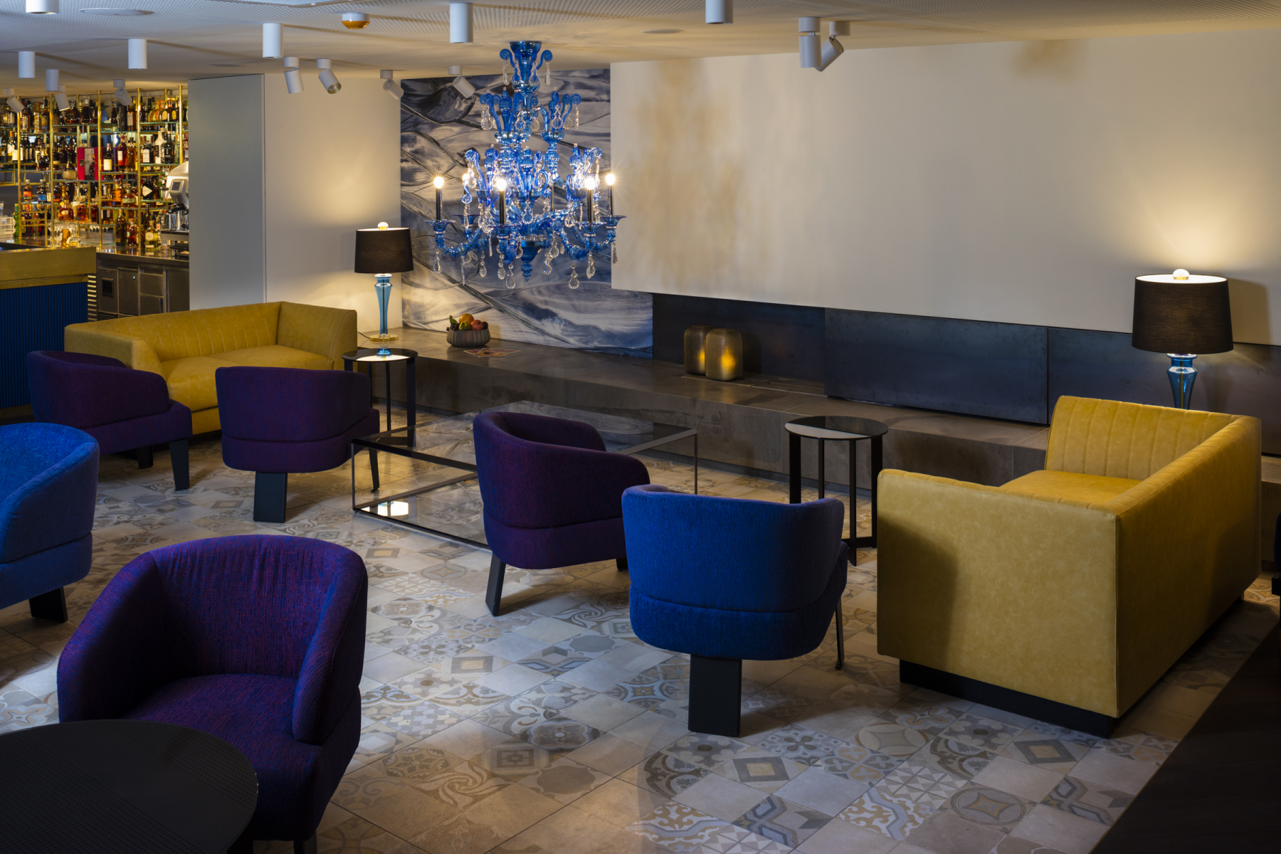 Hotel Stein, Lounge Space © 2018 Edmund Barr