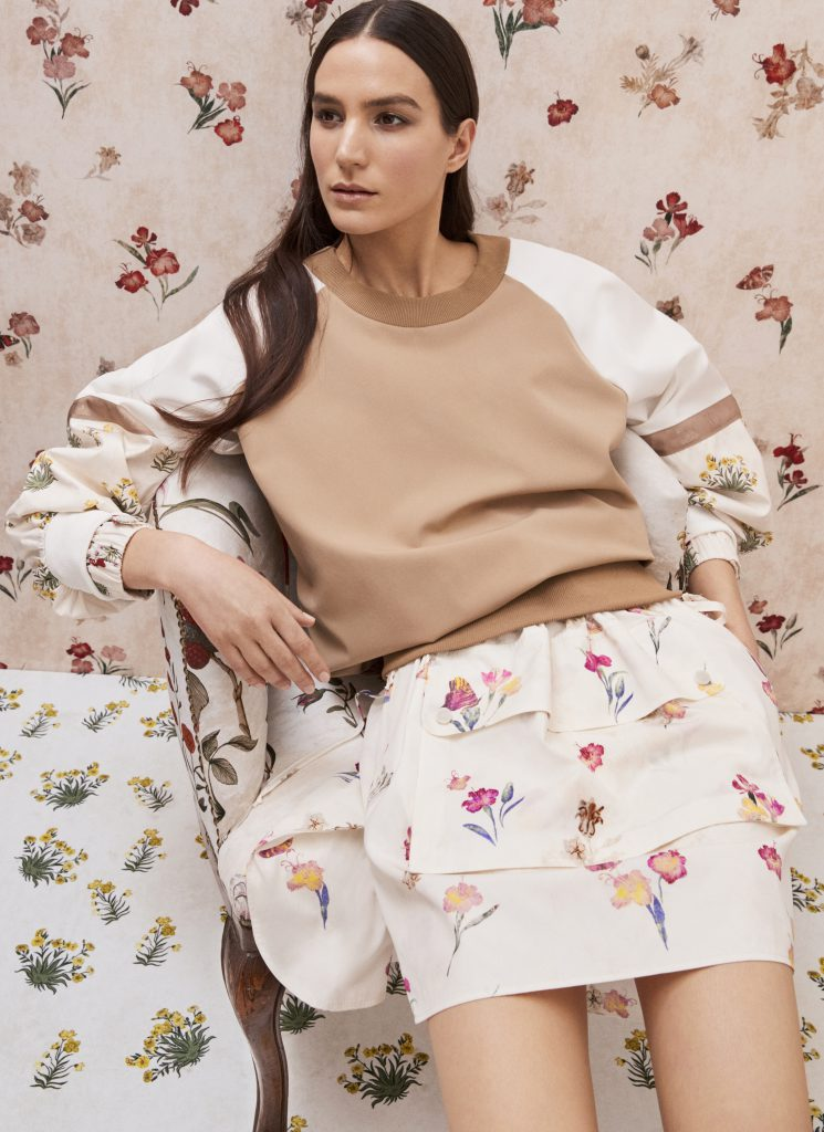 Max Mara Renaissance Flowers Collection