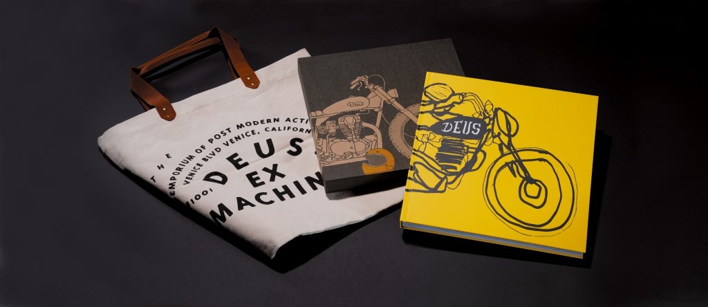 Gift with purchase on breitling.com_Deus coffee table book and canvas tote bag