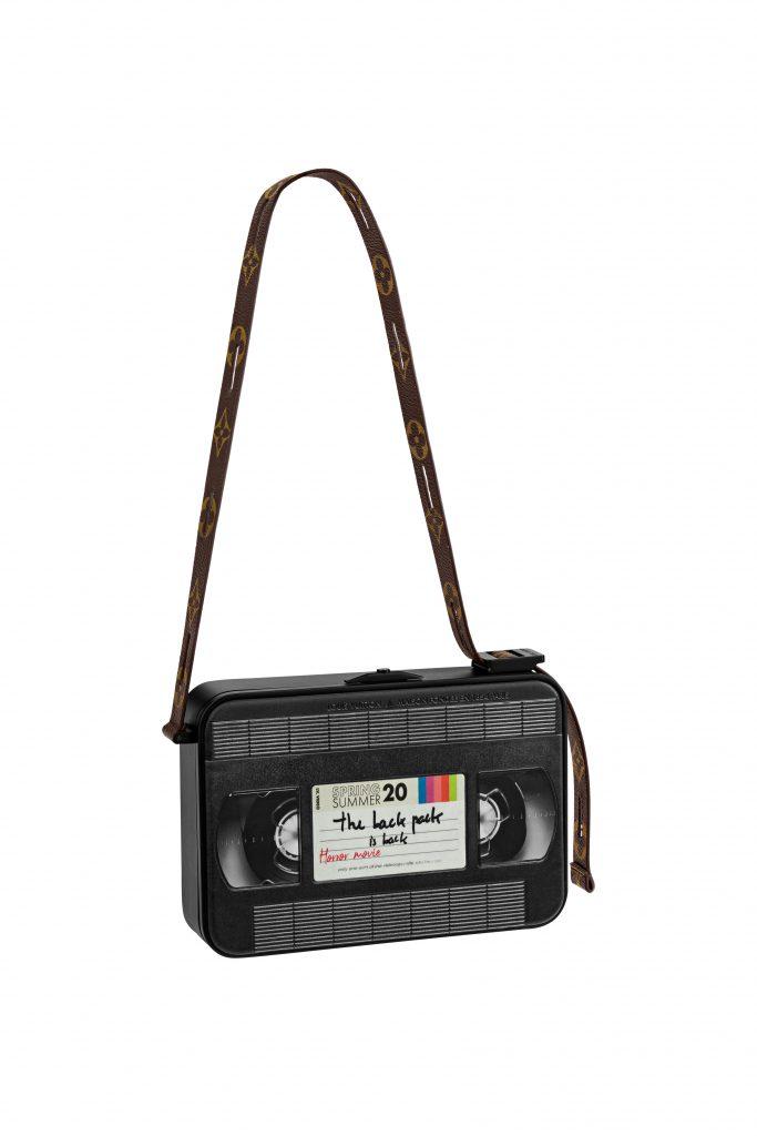 Louis Vuitton Video Cassette clutch