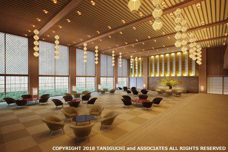 The Okura Tokyo Lobby