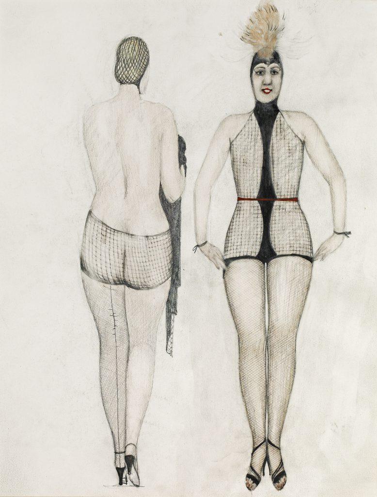 "Strong women: Alfons Walde ""Women in Fishnet clothing"""