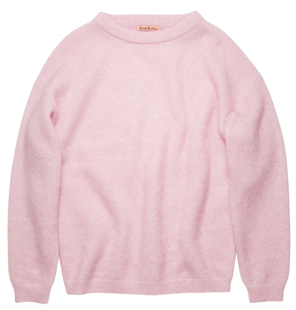 Outfit in Kitzbühel: ACNE Crewneck Sweater