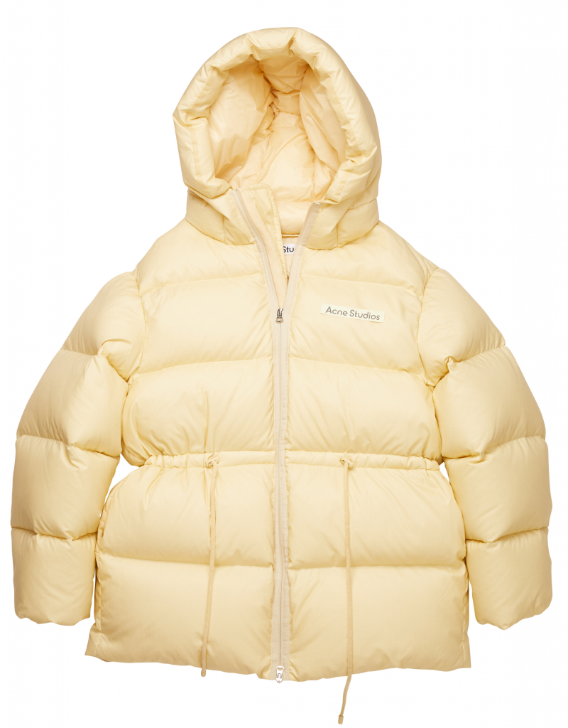 Outfit in Kitzbühel: ACNE Hooded Puffer Coat