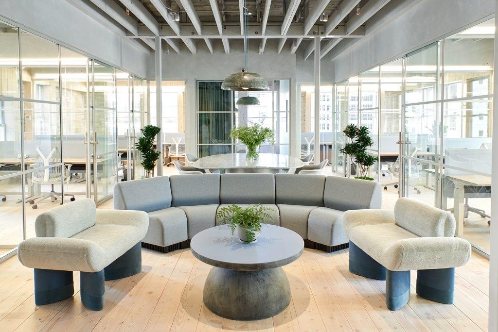 Moderne Möbel in den CANOPY Büros
