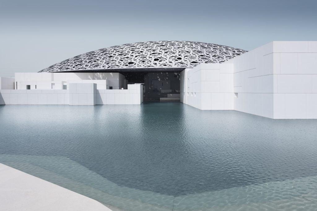 Louvre Abu Dhabi im Emirat