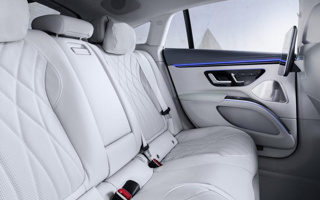 Mercedes Benz Elektro Luxuslimousine