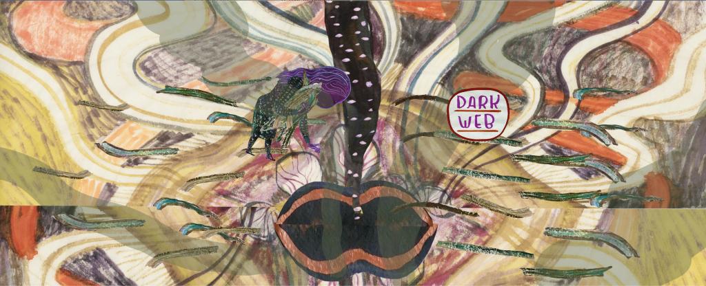 Emma Talbot Still from A Year of Dark Shadows 2021 Animation 02:30 mins Courtesy the artist and CIRCA
