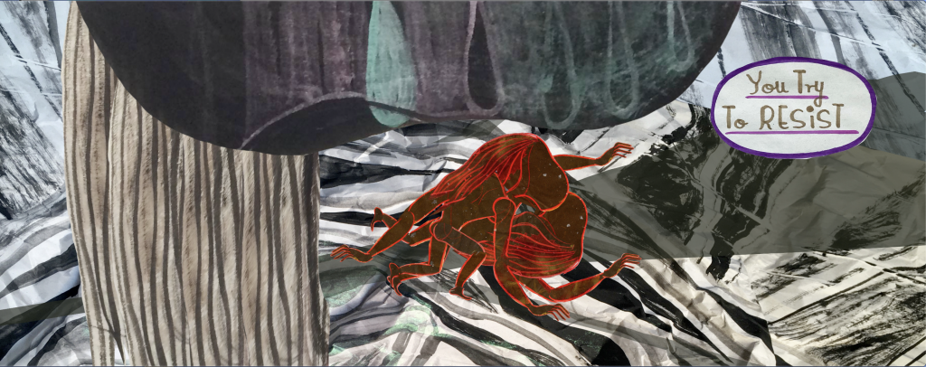Emma Talbot Still from Chorus 2021 Animation 02:30 mins Courtesy the artist and CIRCA