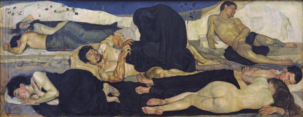 Ferdinand Hodler - Die Nacht (1889-90)