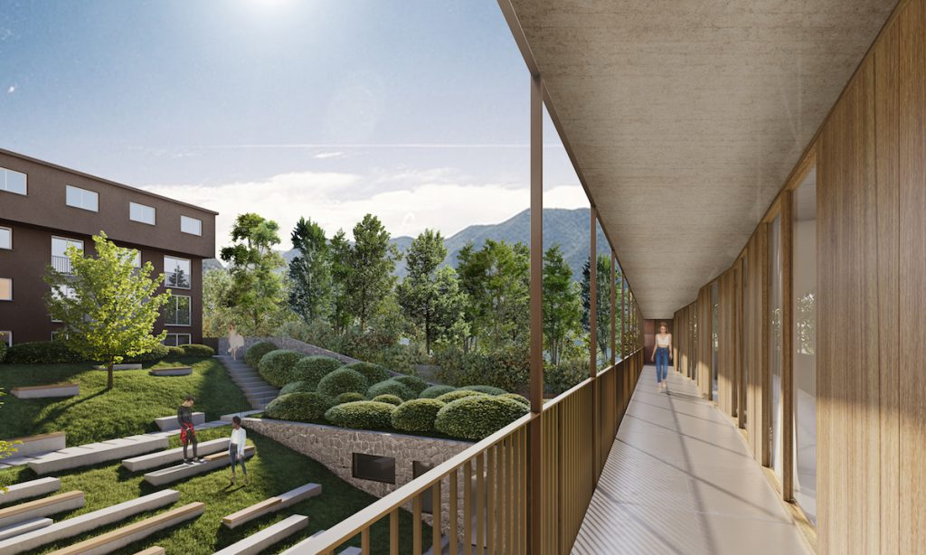 Franklin University: student campus by Flaviano Capriotti