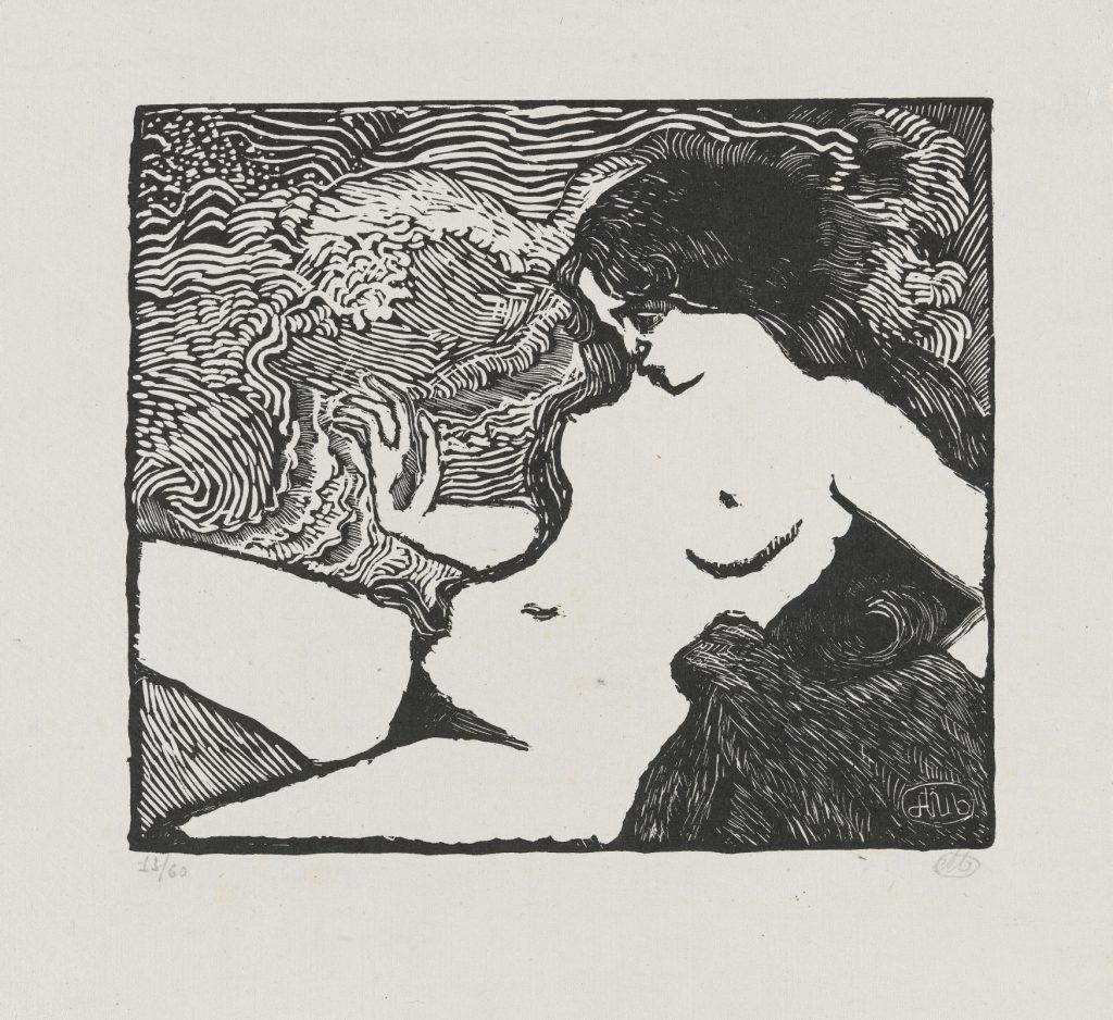 Aristide Maillol, 'The Wave (La vague)', 1895