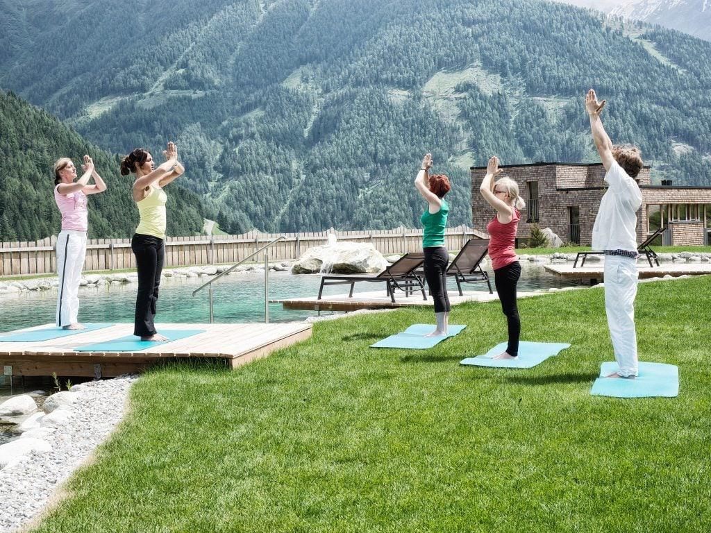 Yoga at Gradonna Mountain Resort