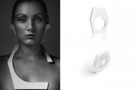 EXAGON EARRINGS, NECKLACE, RING_2®Markus_Mansi