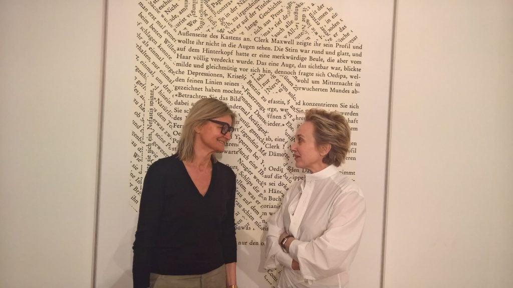 Hedi Grager & Felicitas Thun Hohenstein