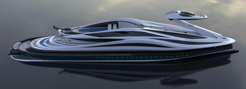 Yachtdesign by Lazzarini Design Studio