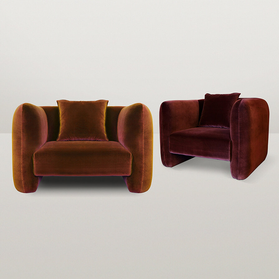 JACOB ARMCHAIR by Collector Group