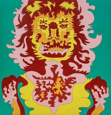 art auctions Karl Wirsum