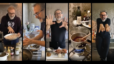 Massimo Bottura Kitchen Quarantine