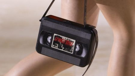 Louis Vuitton Video Cassette clutch