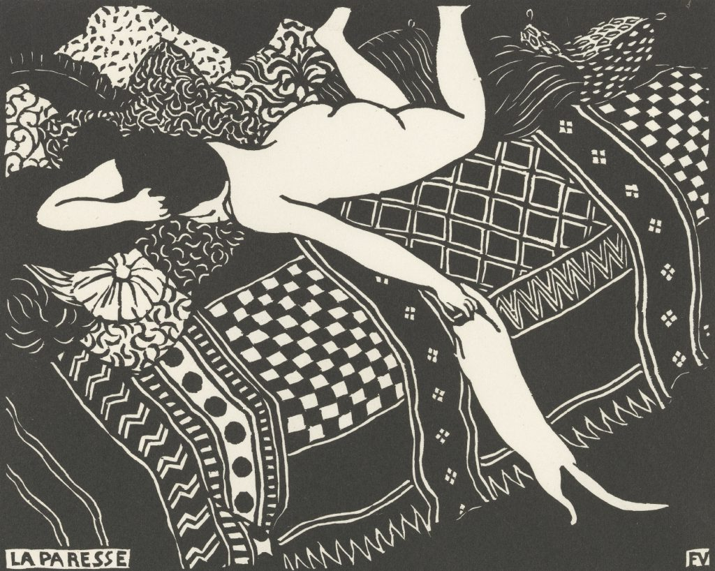 Felix Vallotton, 'Laziness (La paresse)', 1896