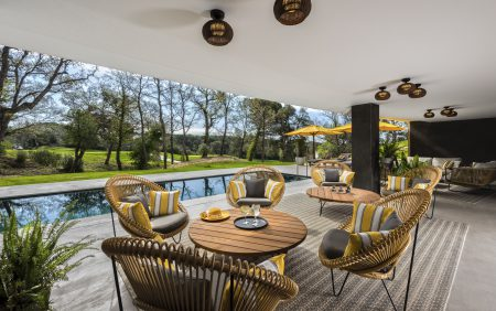 Lounge des LAVIDA Hotels in Girona/Spanien