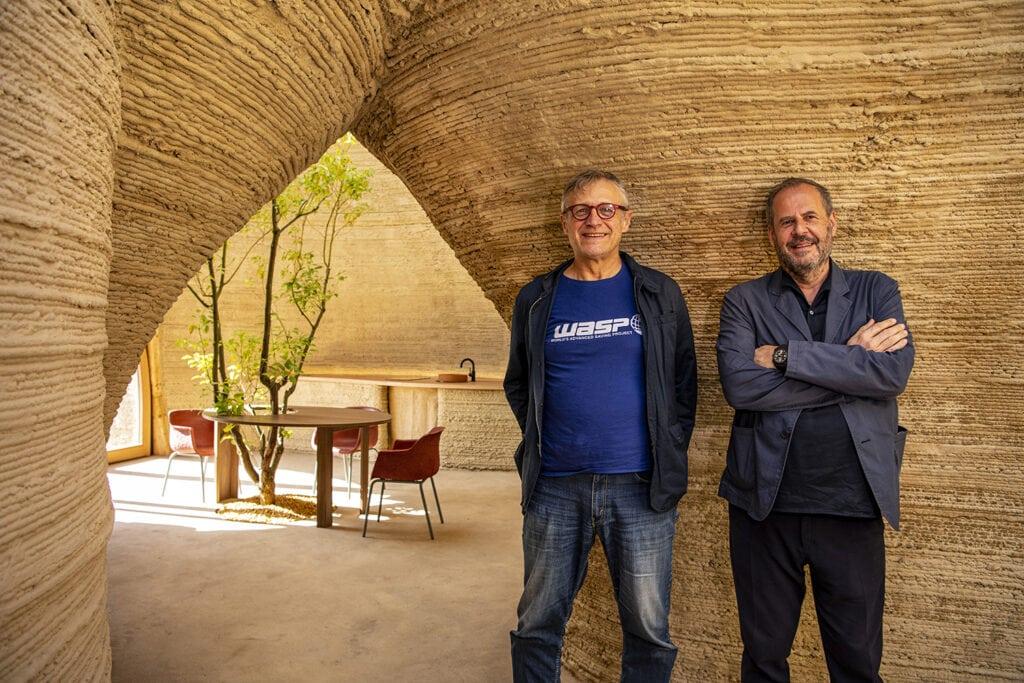 Massimo Moretti and Mario Cucinella, Tecla 3D printed house WASP + MCA