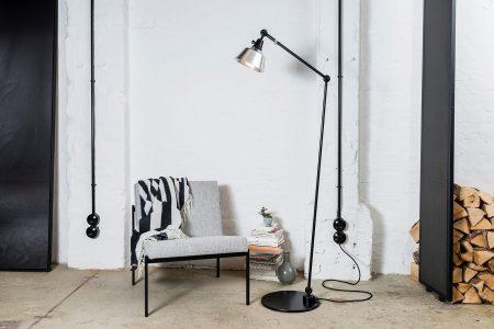 Midgard Floor lamp Modular Alu ©Midgard
