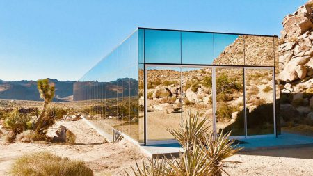 the invisible mirror house
