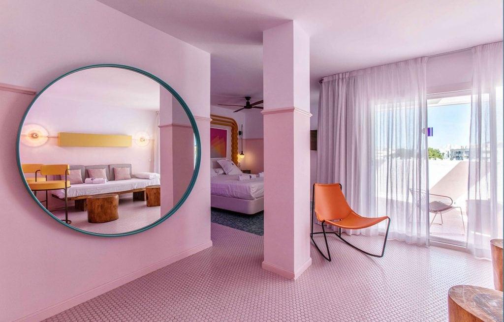 Pardiso Ibiza Art Hotel room