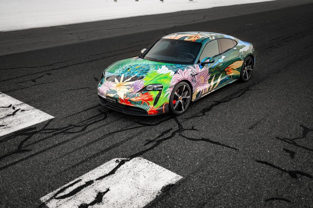 Porsche Taycan Art Car