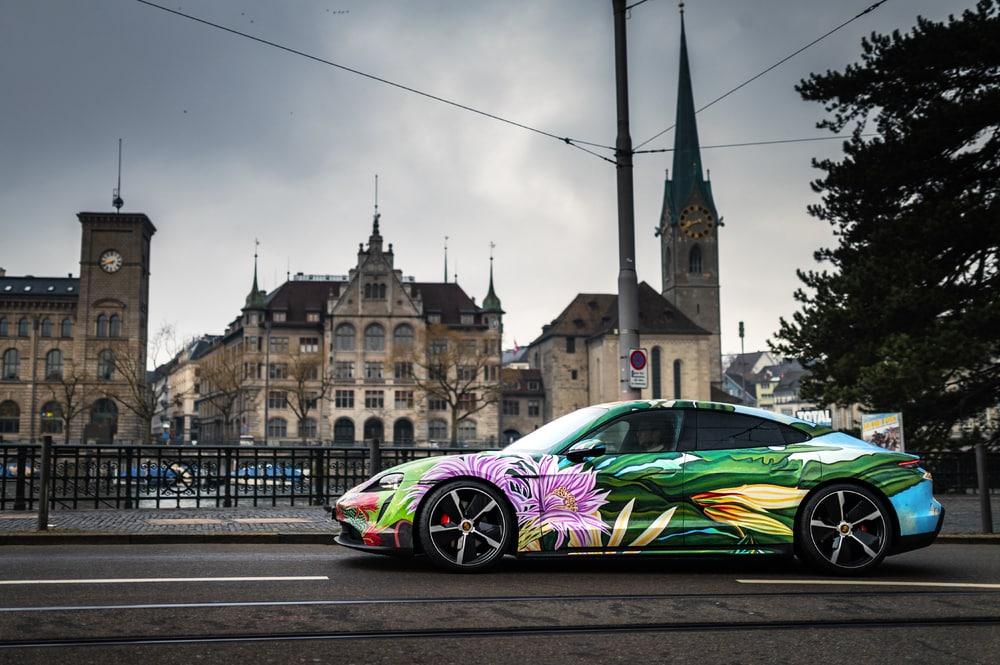 Taycan Artcar © Porsche