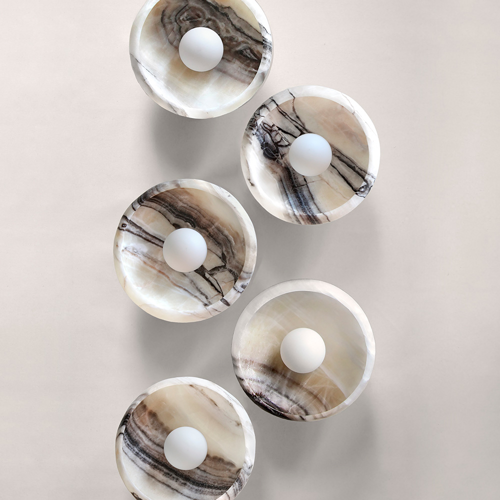 Piedra Sconce by L'aviva home - trend report by Melissa Pyell