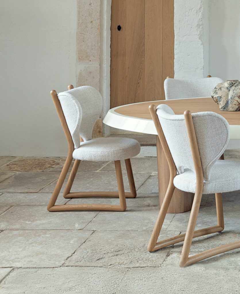 POLUS CHAIRS by Pierre Augustin Rose