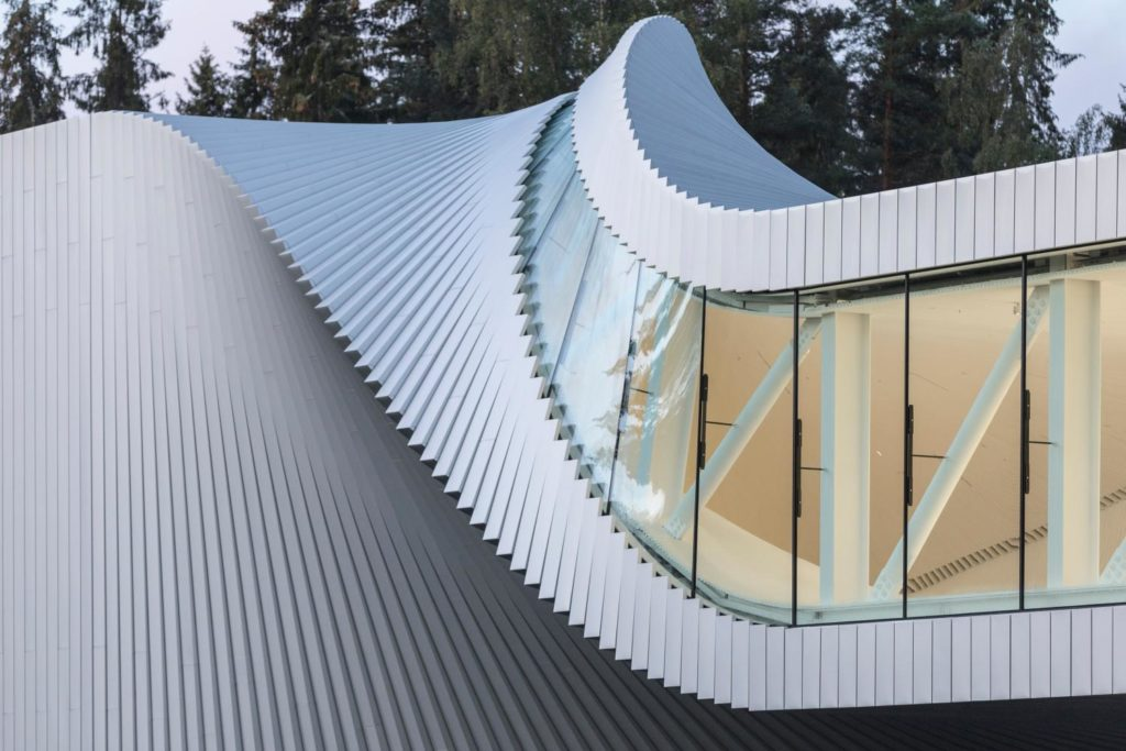 Design Bank Twist.The Twist Norway A Gallery A Bridge And A Sculpture The