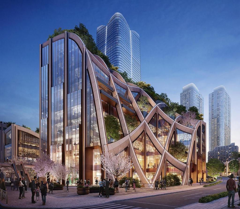 Mega-Project: Gigantic Arbor for Tokyo