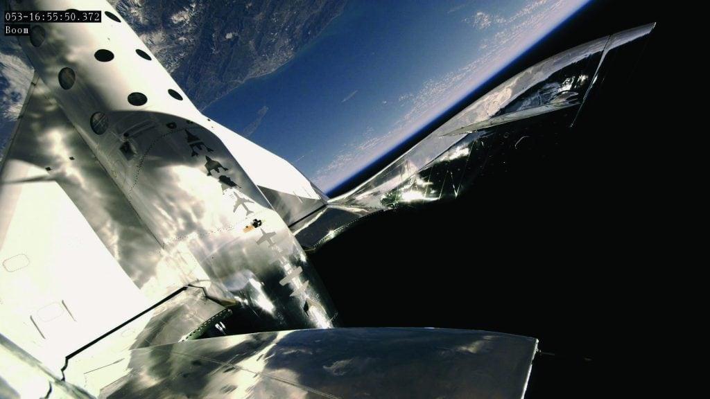 Weltraumabenteuer, Foto by Virgin Galactic