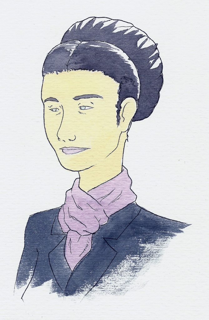 THE FRENCH WRITER AND PHILOSOPHER SIMONE DE BEAUVOIR
