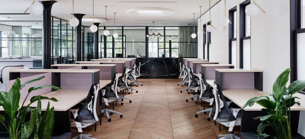 CANOPY Büro mit zeitgenössischen Möbeln