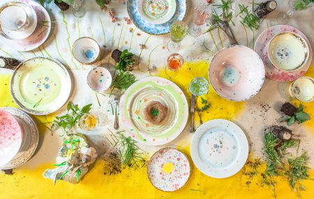 The spring table by Coralla Maiuri