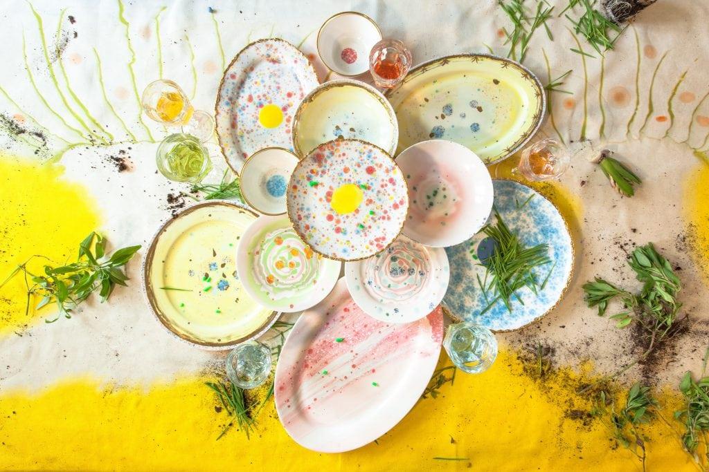 The spring table by Coralla Maiuri