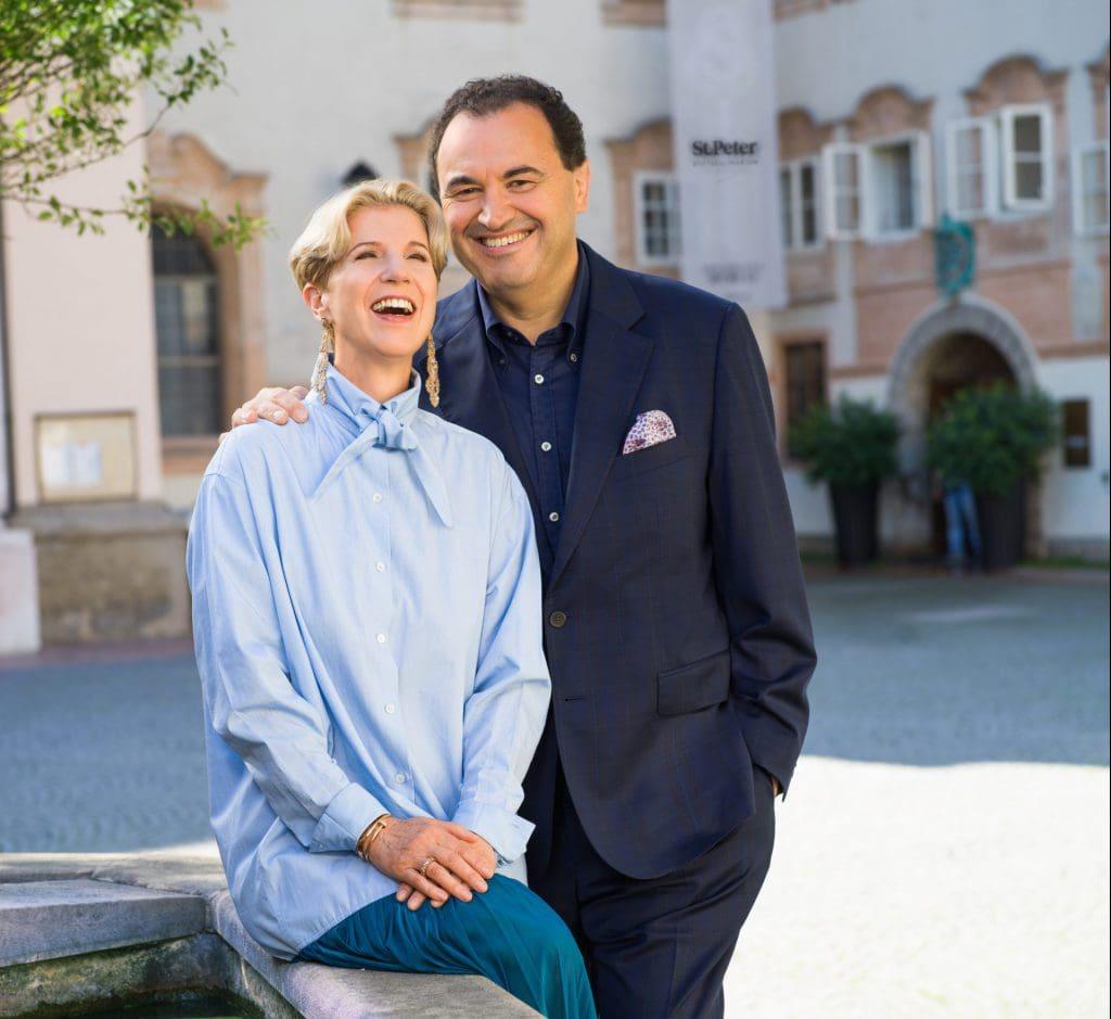Veronika Kirchmair und Claus Haslauer