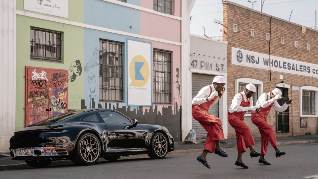 Nelson Makamo x Porsche