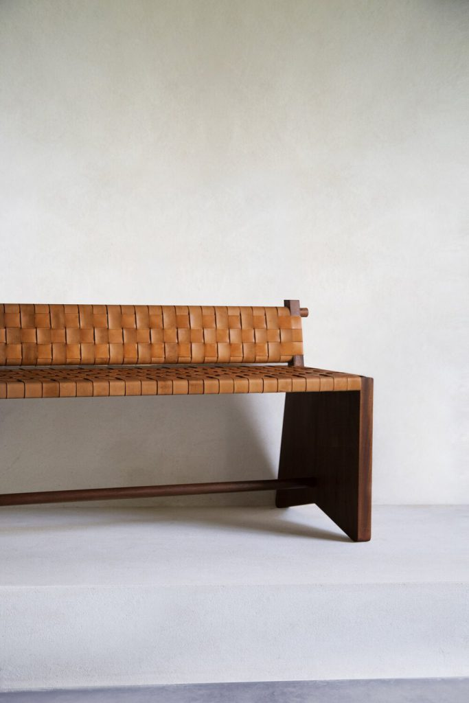 SUBSELLIUM BENCH by Pierre Augustin Rose X Galerie Chenel