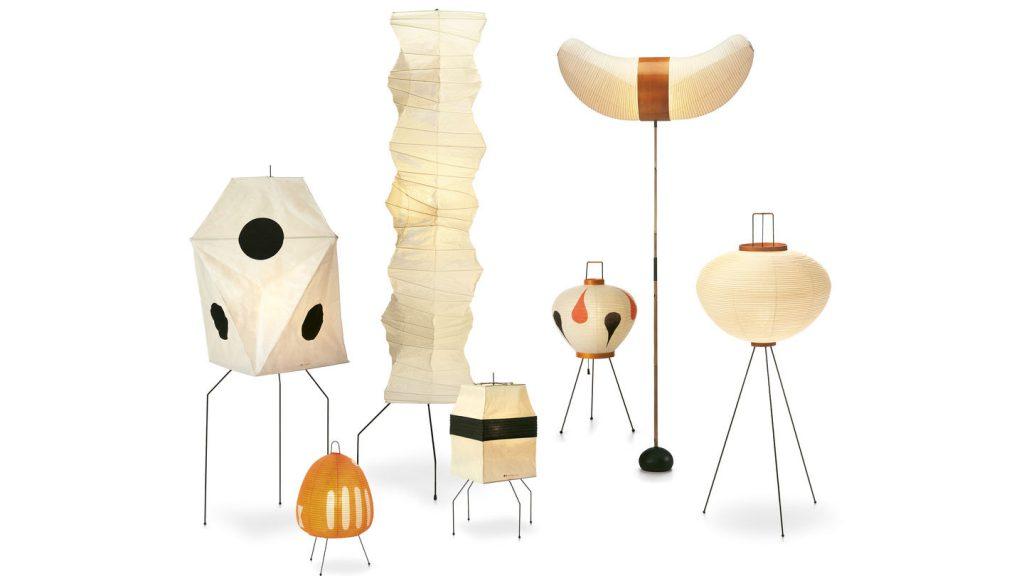 Akari Light Sculptures