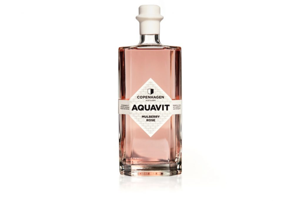 "Aquavit ""Mulberry Rose"" by Copenhagen Distillery"