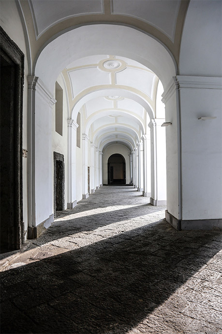 Klosterkomplex in Neapel