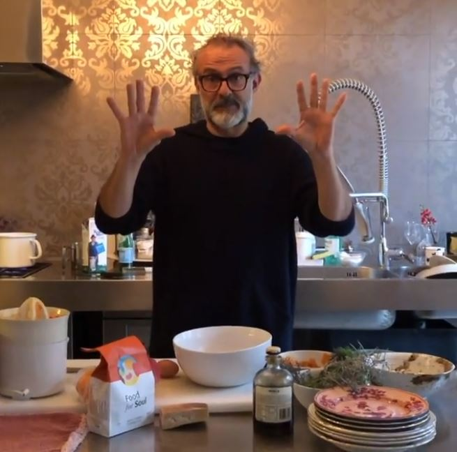 Kitchen Quarantine by Massimo Bottura