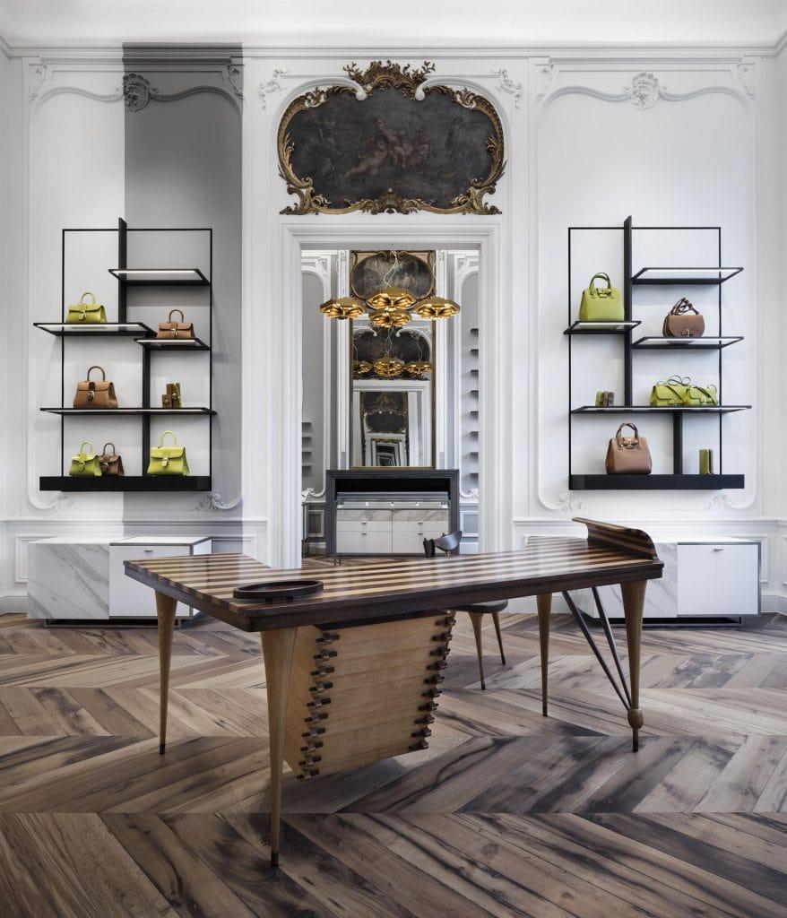 Prix Versailles 2019. Maison Delvaux Flagshipstorein Brussels designed by Vudafieri Saferino Partners